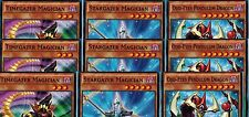 9-Cards:3(Odd-Eyes Pendulum Dragon_Stargazer_Timegazer Magician YS16-EN08-9-10)