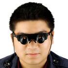 3X28 Magnifier Eyeglass Style Outdoor Fishing Optics Binoculars Telescope EA
