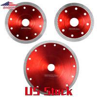 125mm Porcelain Tile Disc Turbo Ceramic Granite Angle Grinder  Diamond Blade US