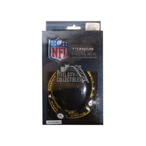 Pittsburgh Steelers Titanium Sport Necklace