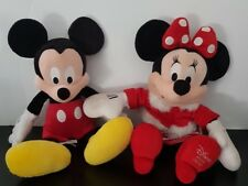 Mickey And Minnie Mouse Plushes Plush Disney Store Official