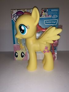 "My Little Pony Fluttershy 8 Inch 8"" Figure Friendship Magic Large Vinyl New"