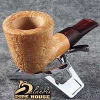 Exclusive BALANDIS Original Briar Handmade SMOKING pipe INDIANA natural SANDO