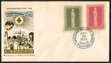 1956 Philippines Commemorating Centenary Of The Feast Of The Sacred Heart Cover