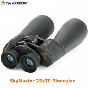 Celestron SkyMaster 25x70 Binoculars 71008 Porro Prism W/ Tripod adapter Gift