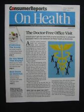 Consumer Reports: On Health  August 2015
