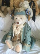 Antique Fortuny Doll Steiff Bear Baby Outfit Wiht Hat Fantasic From Venice