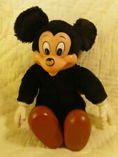 Vintage Mickey Mouse plush doll collector Wallace Berrie Co Applause toys Disney