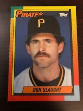 1990 Topps Traded Don Slaught Pittsburgh Pirates 116T