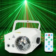 16 in 1 Sound Active Stage Light LED Laser Beam RGB Xmas Disco Party Lighting