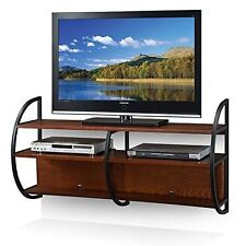 Wooden Entertainment Wall Units Stands | eBay