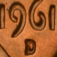 1961-D Lincoln Memorial Cent RPM-037 Stage A BU