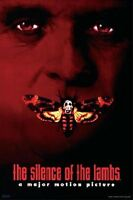"THE SILENCE OF THE LAMBS POSTER ""LICENSED"" BRAND NEW ""HANNIBAL LECTER"" HOPKINS"