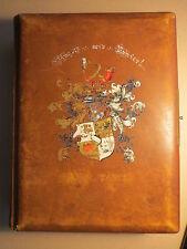 Wingolf Tübingen - Leeres Fotoalbum mit Wappen - 1905 / Studentika