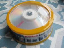 More details for pack of 25 kodak dvd+r blank discs. unused.