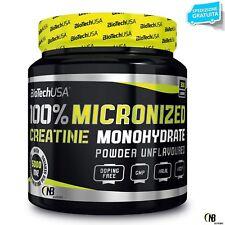 Biotech Creatine Monohydrate 300 gr Pure Créatine micronisé en poudre
