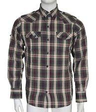ID Denim Fred Check Shirt Men's Size Medium M