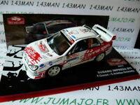 RMC16M 1/43 IXO altaya Rallye Monte Carlo SUBARU IMPREZA STI 2011 Gonon #35