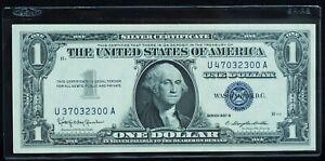 1957 B $1 Silver Certificate Gem CU - ERROR - Mismatched Serial Numbers RARE