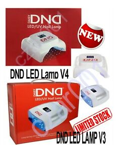 DND Professional Corded LED V4 Light Gel Nails (2020) OR LED V3 (2019) LAMP  !