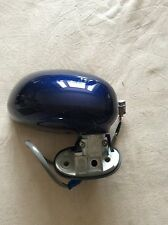 GENUINE NEW DAIHATSU COPEN DRIVERS SIDE DOOR MIRROR IN DAK BLUE MICA