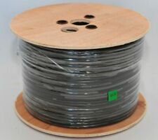 Brand New unopened ProCom 100 Meter Black Solid Copper External Coaxial Cable