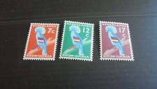 NETHERLANDS/NEW GUINEA 1959 SG 60-62 BIRDS MH (A)
