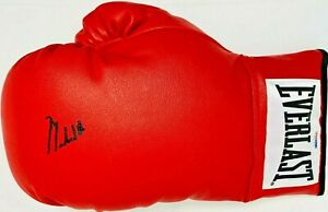 Muhammad Ali Signed Leather Everlast Boxing Glove In Black PSA ITP 5A42491