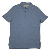 Men's Banana Republic The Vintage T  Blue Polo Short Sleeve Shirt Size Large