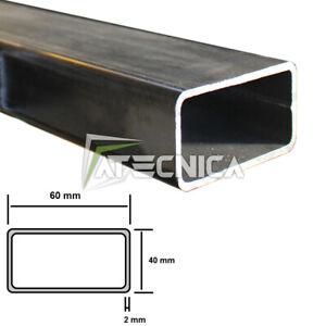 Tubular Iron A Profile Rectangular 60 x 40 X 2 MM Rough Rounded 1-2-3 MT