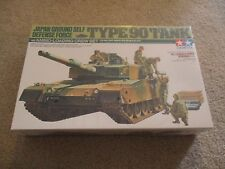 Tamiya Type 90 Tank Japan Ground Self Defense Force Model Kit 1:35 MISB Sealed
