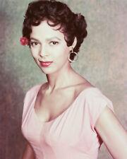 Dorothy Dandridge Color In Pink Dress 16x20 Canvas Giclee