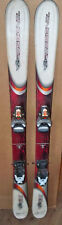 118 cm Rossignol Bandit B1 partial twintip junior skis/bindings + size 4.5 boots