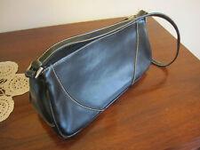 Diana Ferrari small black bag zip closure evening bag   near new