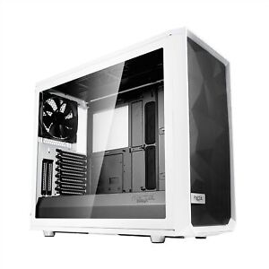 Fractal Design Meshify S2- Mid Tower Computer Case- Airflow/Performance, White