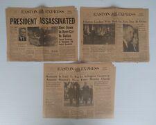 Easton Express 11/1963 - J.F. Kennedy