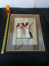 Egyptian Papyrus Hand Painted