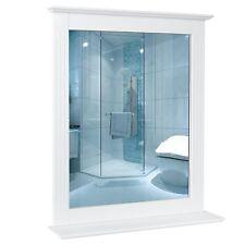 Wandspiegel Badspiegel mit Ablage Kosmetikspiegel Badezimmerspiegel 60x12x70cm