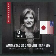 Palau 2014 MNH Ambassador Caroline Kennedy 1st Woman Ambassador 1v S/S Stamps