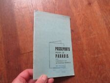 DOMINIQUE MORELLE  passeports pour le paradis comedie musicale theatre vence