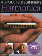 ABSOLUTE BEGINNERS  HARMONICA BOOK +  CD  DIATONIC