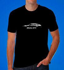 Alfa Romeo alfetta GTV GTV6 clothing retro inspired T shirt