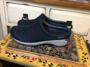 Merrell Select Fresh Air Cushion Womens Mules Clogs Black Mesh Shoes Size 7.5