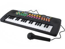 Kinder Keyboard + Mikrofon Radio 37 Tasten Melodien Töne Batteriebetrieben 6722