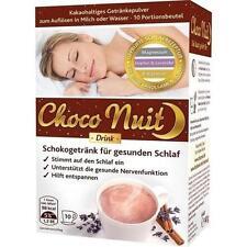 CHOCO Nuit Schokogetraenk f.guten Schlaf Pulver 10St PZN: 7689045