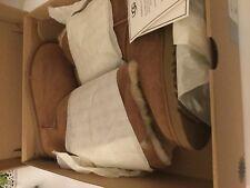 NIB UGG-Womens BAILEY BOW TALL II Chestnut US 6 EUR 37 -#1016434
