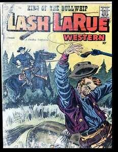 1958 Charlton Royal Lash LaRue Western #70