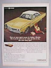 Chrysler Newport 300 2-Door Hardtop PRINT AD - 1966