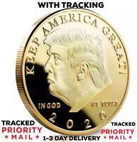 2020 US President Donald Trump Inaugural Eagle Commemorative Novelty Coin Gold