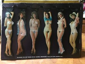 Vintage Penthouse Pets Swizzle Stick Strippers 1970's Cocktail Drink